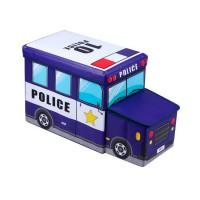 """Короб складной с крышкой """"Полицейская машина"""""""