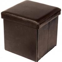 XF 1203 Пуф складной коричневый